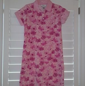 Lilly Pulitzer flower butterfly Pink Dress 16